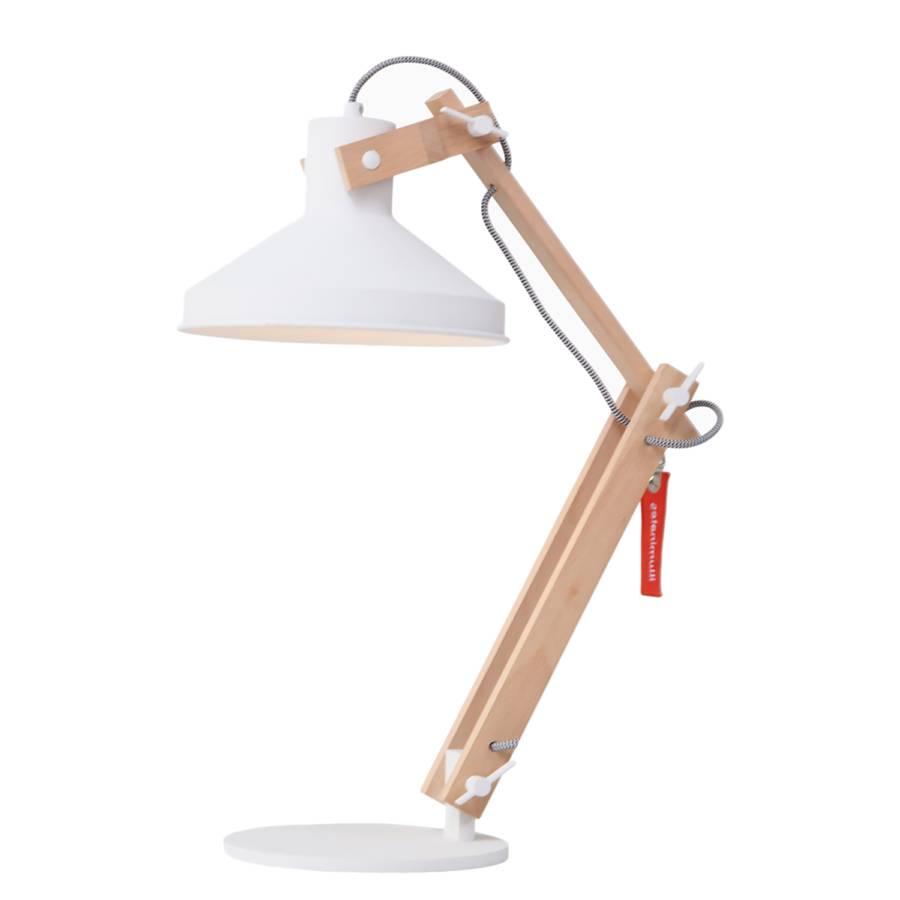 Lampe AcierHêtre Massif1 Ampoule Woody UzpGVqSM