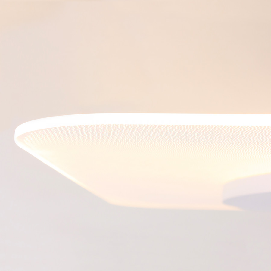 Mexlite flammig AcrylglasEisen1 Iii deckenleuchte Led FcJl1K