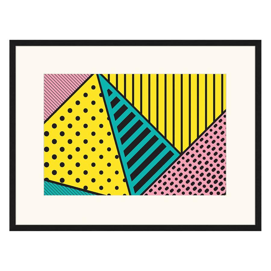 Yellowamp; MassivPlexiglas82 Bild 62 Cm Buche X Pink Green srthCQdx