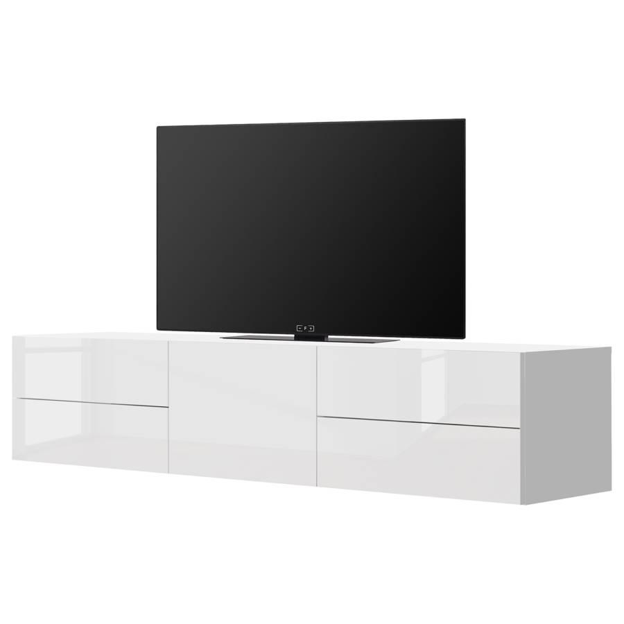 Hochglanz Tv Ii lowboard Penola Weiß 0wOPkn