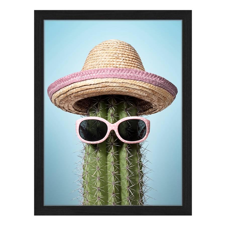 Buche MassivPlexiglas32 42 Bild X Mexico Pink Cactus Cm Nvn80wm