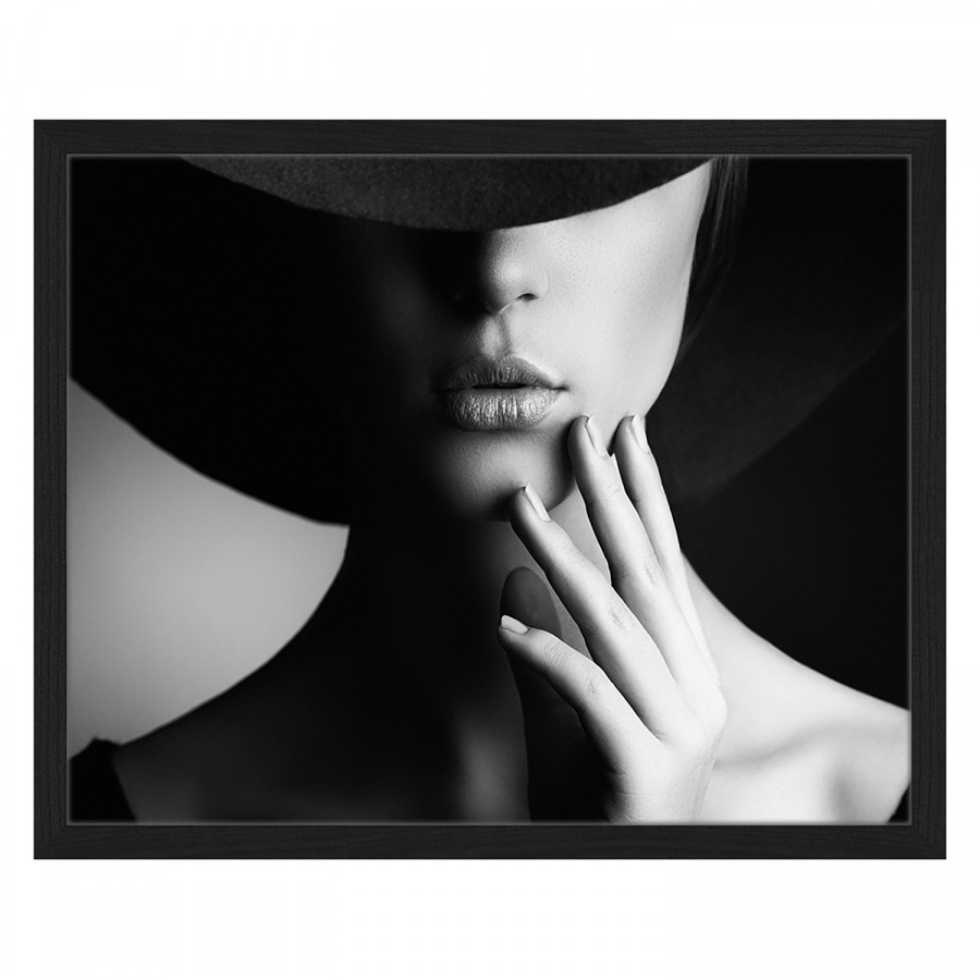 X Buche 42 MassivPlexiglas52 Style Retro Cm Bild Woman drCBexo