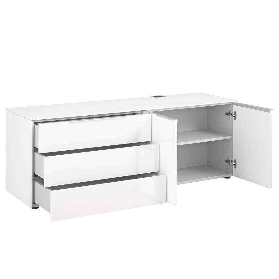 Hochglanz Sideboard Sideboard Edjust I Edjust Weiß kiPTZXOu