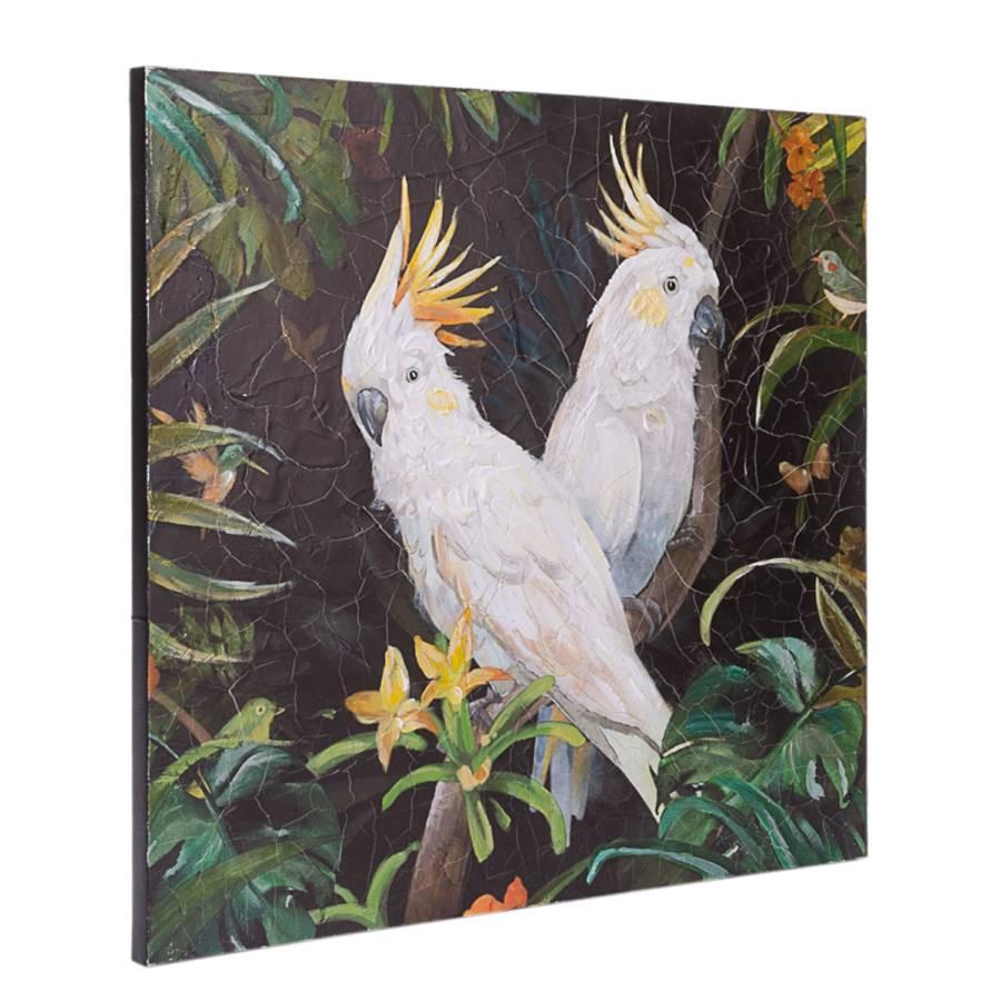Kakadu LeinwandKiefernholzMehrfarbig Kakadu Kakadu LeinwandKiefernholzMehrfarbig Bild Bild Bild wkNX80OPn