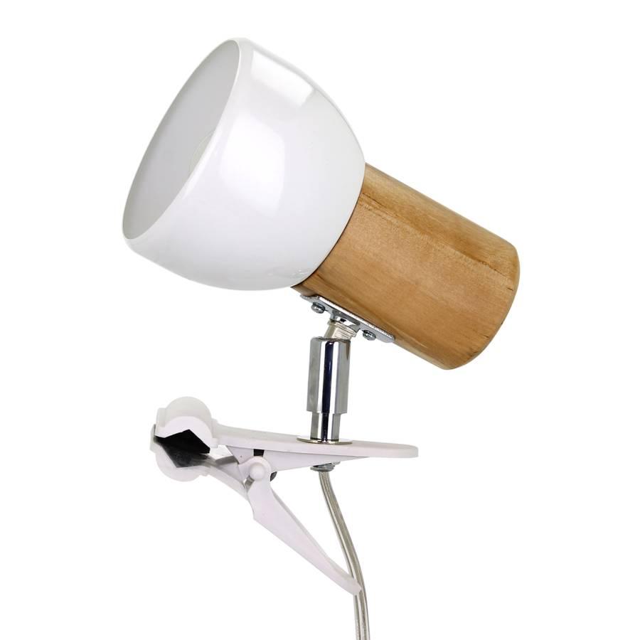 Lampe Iv Svenda Ampoule AcierChêne Massif1 Okw0P8Xn