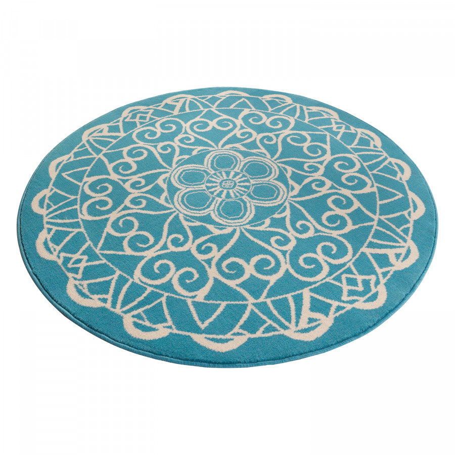 WebstoffAqua Mandala Mandala Teppich Teppich WebstoffAqua Mandala Teppich Y7vfby6mIg