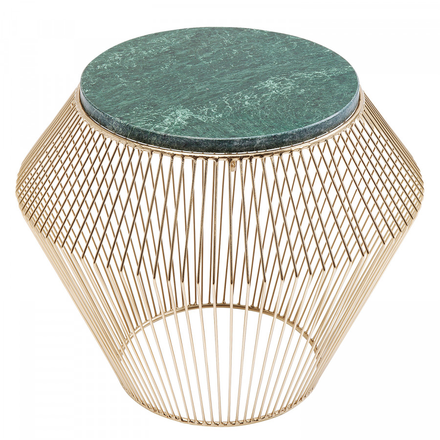 Gold Beam MarmorStahlGrün Ii Beistelltisch Beam Ii Beistelltisch EDHI29