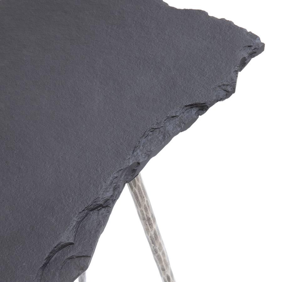 Silber Konsolentisch Pilla Konsolentisch Pilla SandsteinStahlGrau SandsteinStahlGrau 54j3RLqA