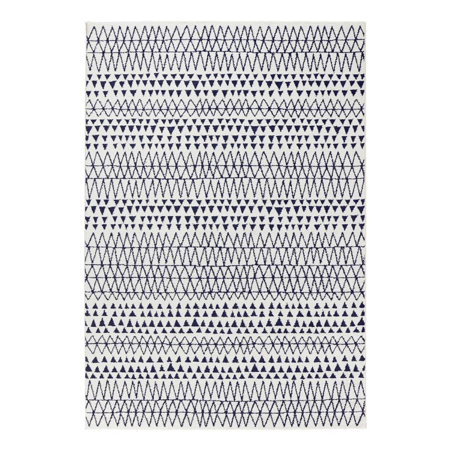 Scandinavian KunstfaserWeißSchwarz Kurzflorteppich Cm X 150 80 kOZuTPXi
