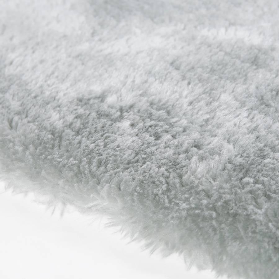 150 Tapis D'agneau Épais Peau PolyesterGris Cm X 80 FJ15l3uTcK