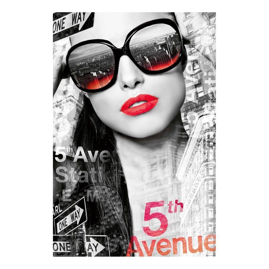 5th Avenue Tableau 5th PapierMdfNoir Déco Déco Tableau Tableau PapierMdfNoir Avenue gb76vIfyY
