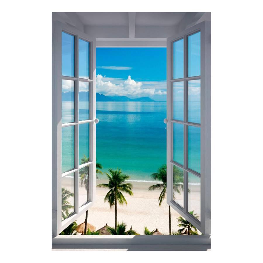 Palm Ii Palm Beach Bild Beach PapierMdfBlau Ii Bild TKculF1J3