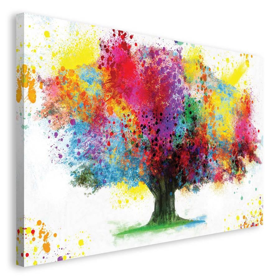 Bild Of Tree Life PapierMdfMehrfarbig Bild nwO8Pk0