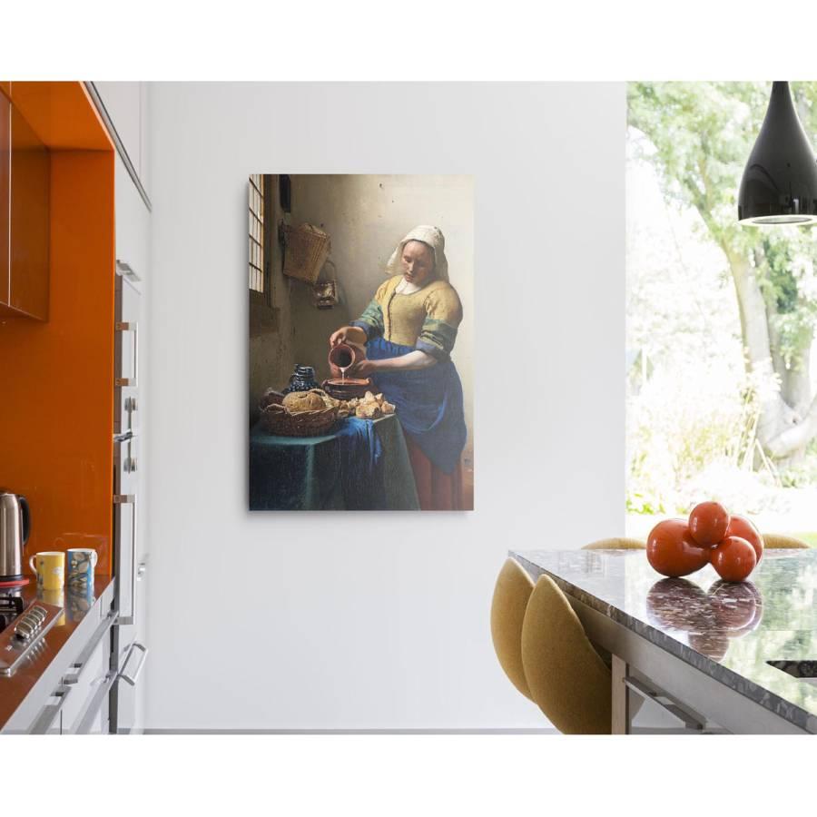 Bild Vermeer PapierMdfBlau Bild Ii Jan Jan Vermeer k80OnwPNX