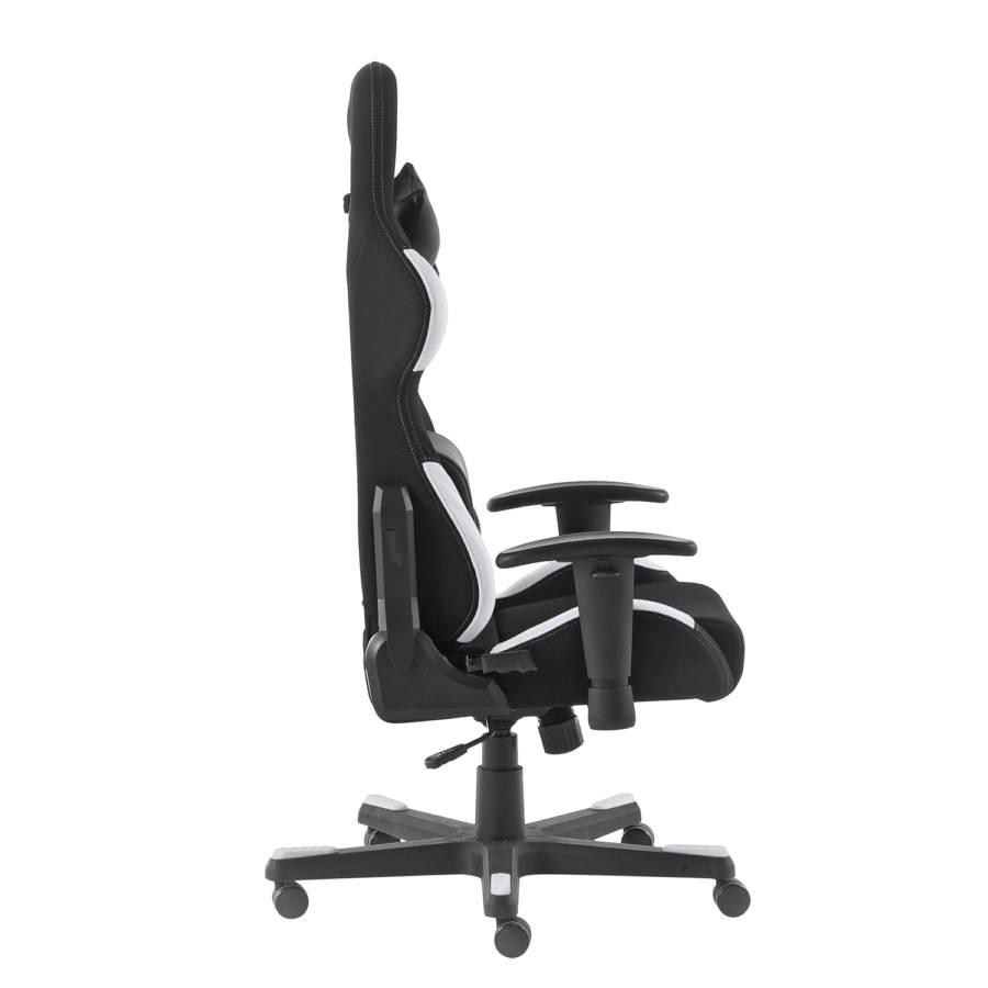 Ii Chair Dx Gaming MeshKunstlederSchwarz 1 racer Weiß A35jRL4