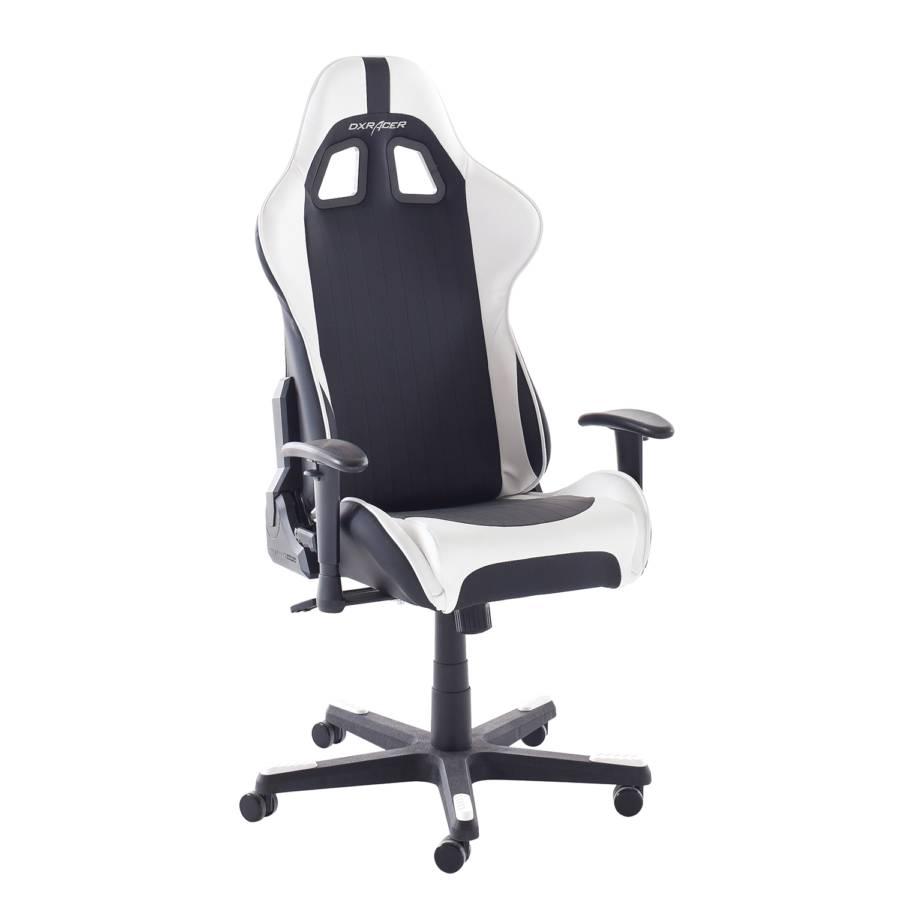 Gamer racer CuirNoirBlanc Imitation Chaise Dx 6 MqSUzVpG