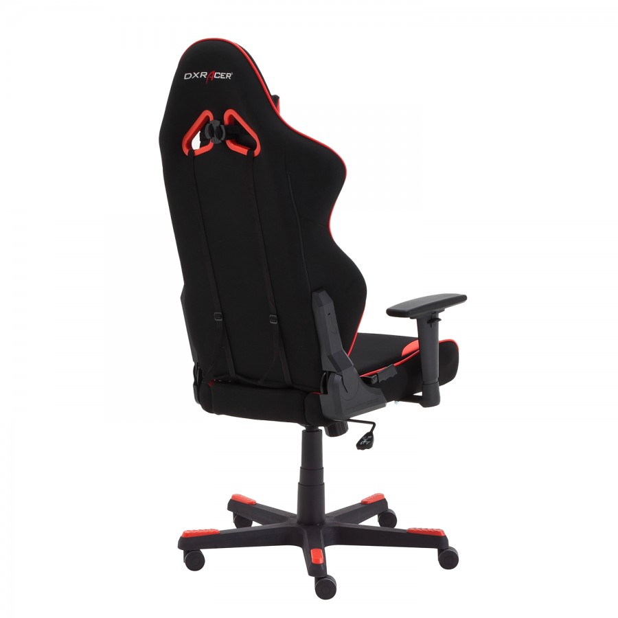 Dx Rot Gaming racer Chair R1 MeshKunstlederSchwarz vnN80wm