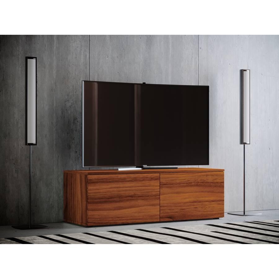 Dekor115 Nussbaum Cm lowboard Gebosa Tv rxdBeWQCo