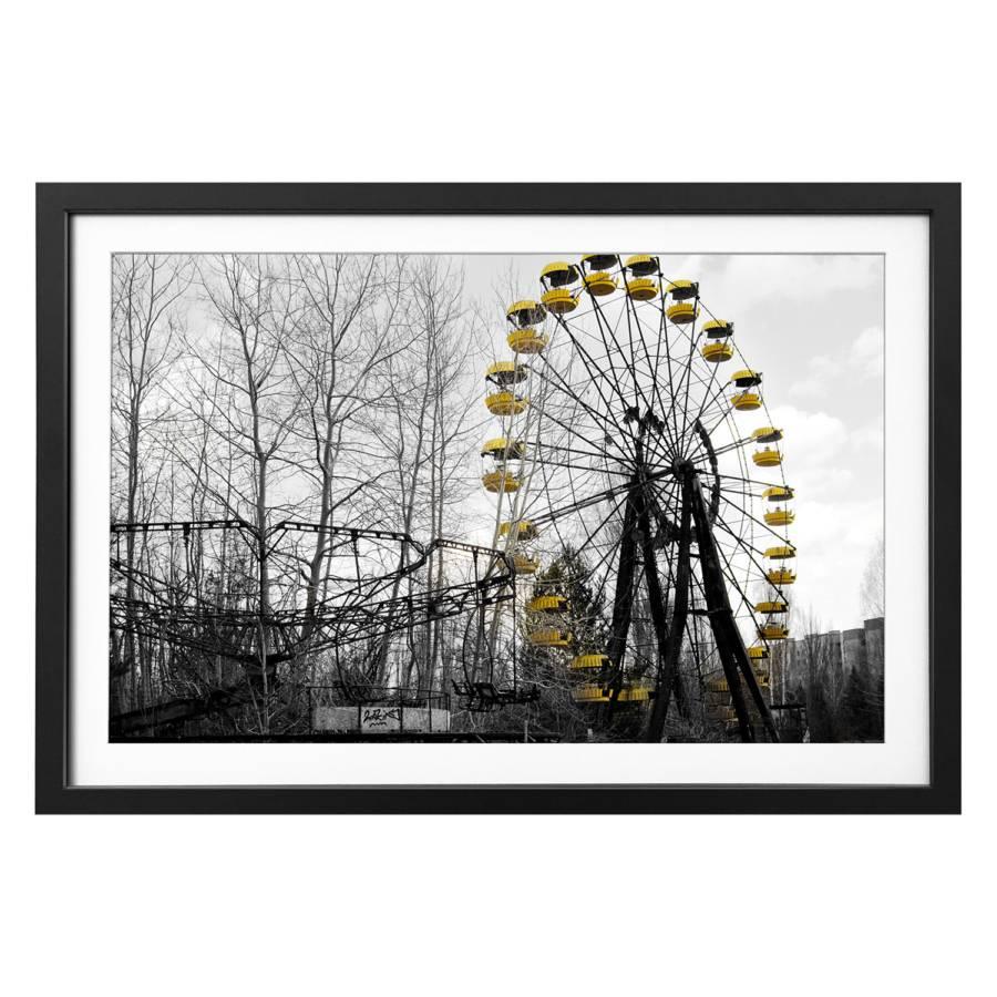 Tableau Déco MassifJaune Ferris Tilleul Wheel nPZN80wOkX