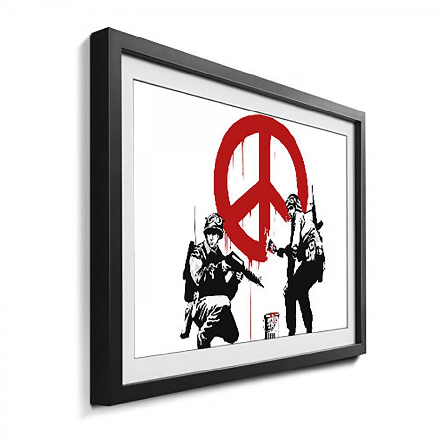 No15 Bild Bild Banksy LindeMehrfarbig Banksy Massivholz kwuXiTOPZ