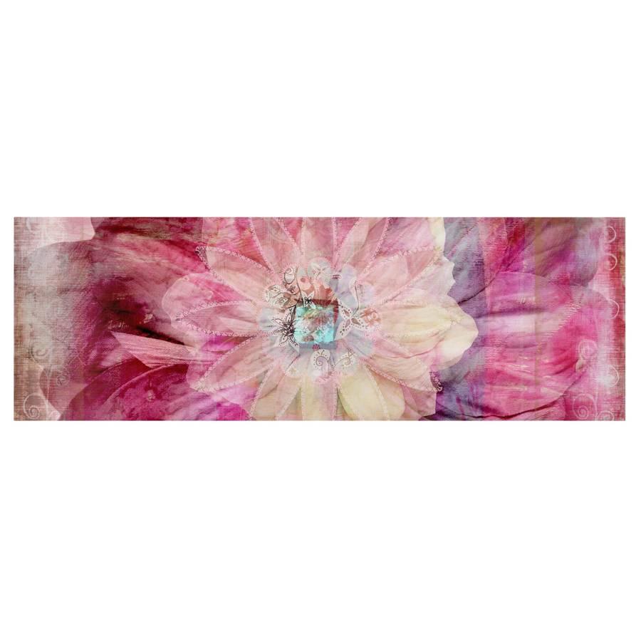 X LeinwandMassivholz Bild Flower Grunge 90 30 FichteMehrfarbig Cm 08nOPwk