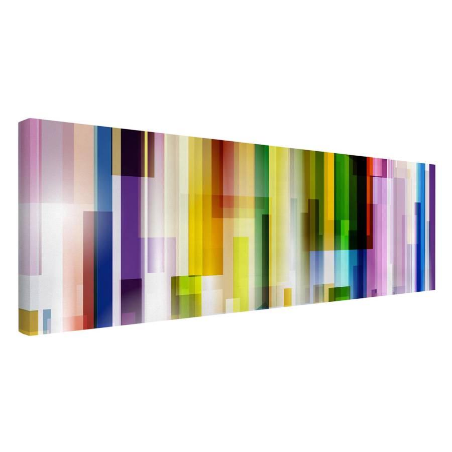 LeinwandMassivholz FichteMehrfarbig Cubes X Bild Cm I 50 Rainbow 150 shroCtBdQx