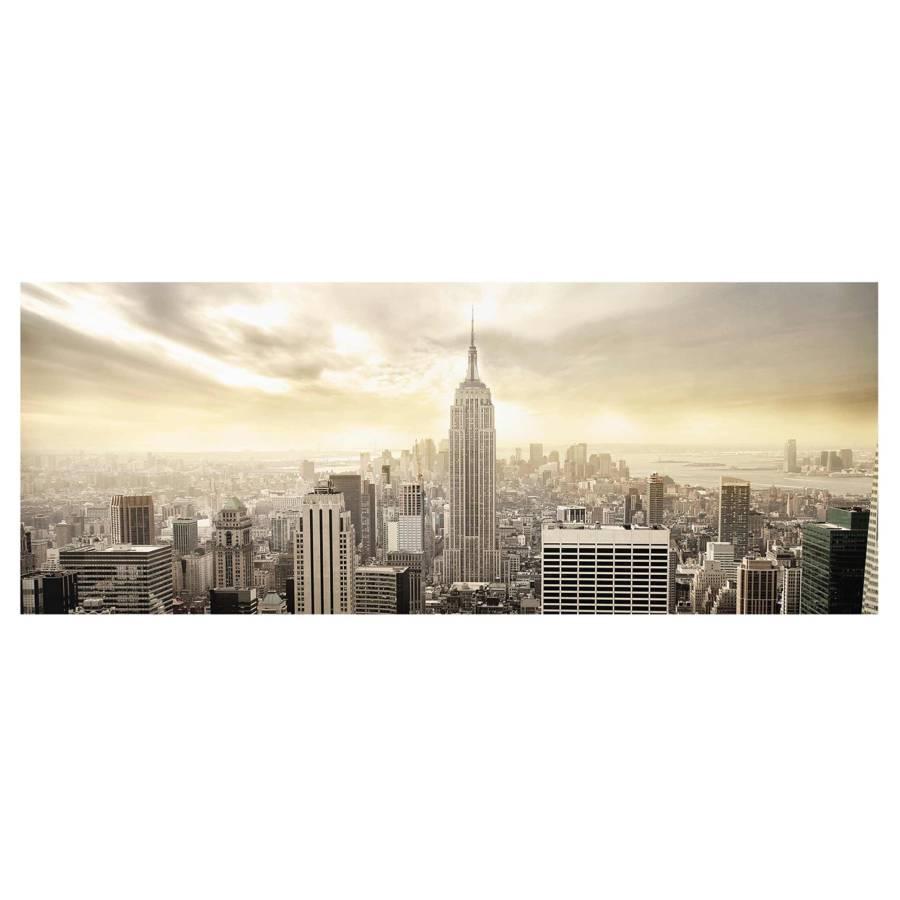Véritable 80 X 30 Manhattan Ii Cm Tableau Dawn Verre RésistantMulticolore Déco rCxoeQdWB