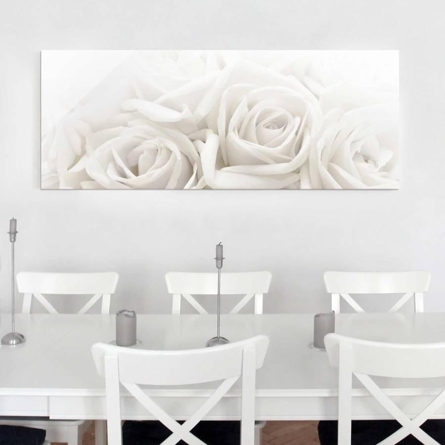 Roses Cm 80 Bild Wedding Starkes X EchtglasMehrfarbig 30 OiwZXPkuT