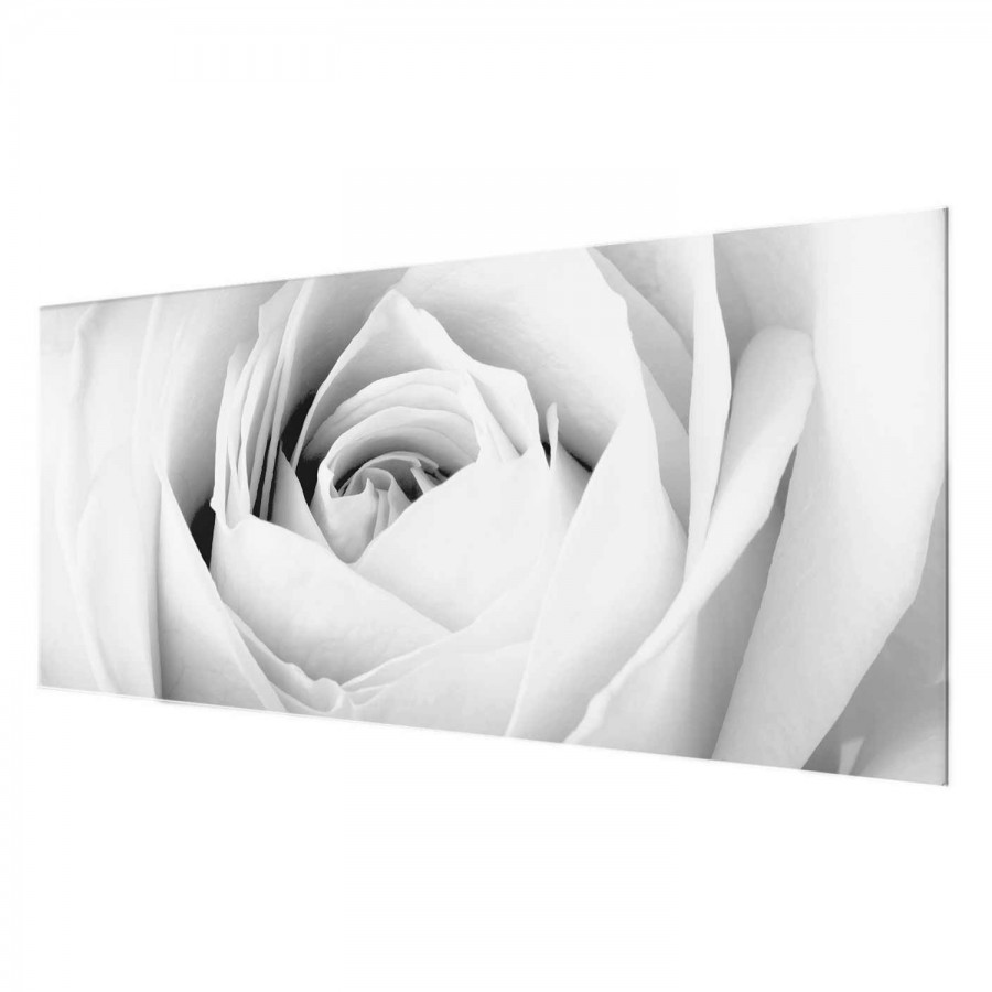 125 Rose Cm Déco Close X Verre 50 Tableau Véritable Up RésistantMulticolore qjSGzLUVMp