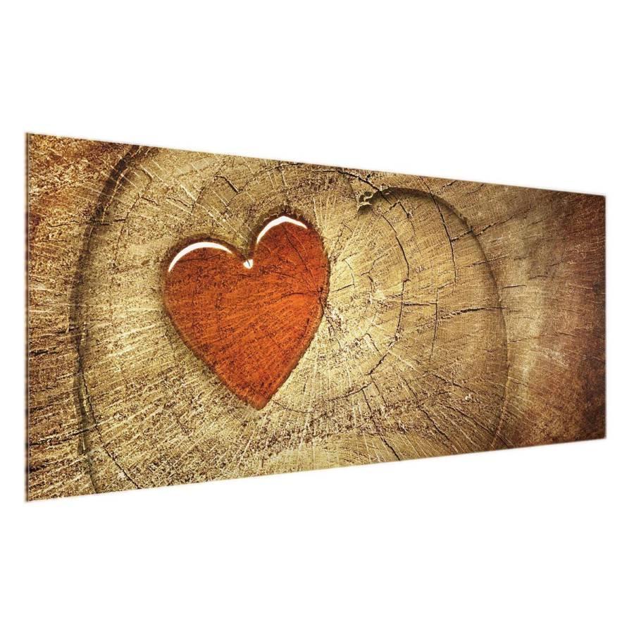 Love Starkes EchtglasMehrfarbig Natural Cm X Bild 100 40 LSqUzMVpG