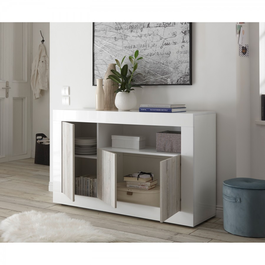 Dekor Pinie Ii Weiß Urbino Sideboard nPkwO0