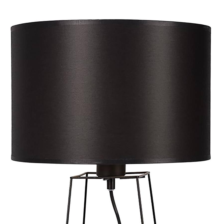 MélangéAcier1 Ampoule Noir Tissu Tiphany Lampe BoECdxeWQr