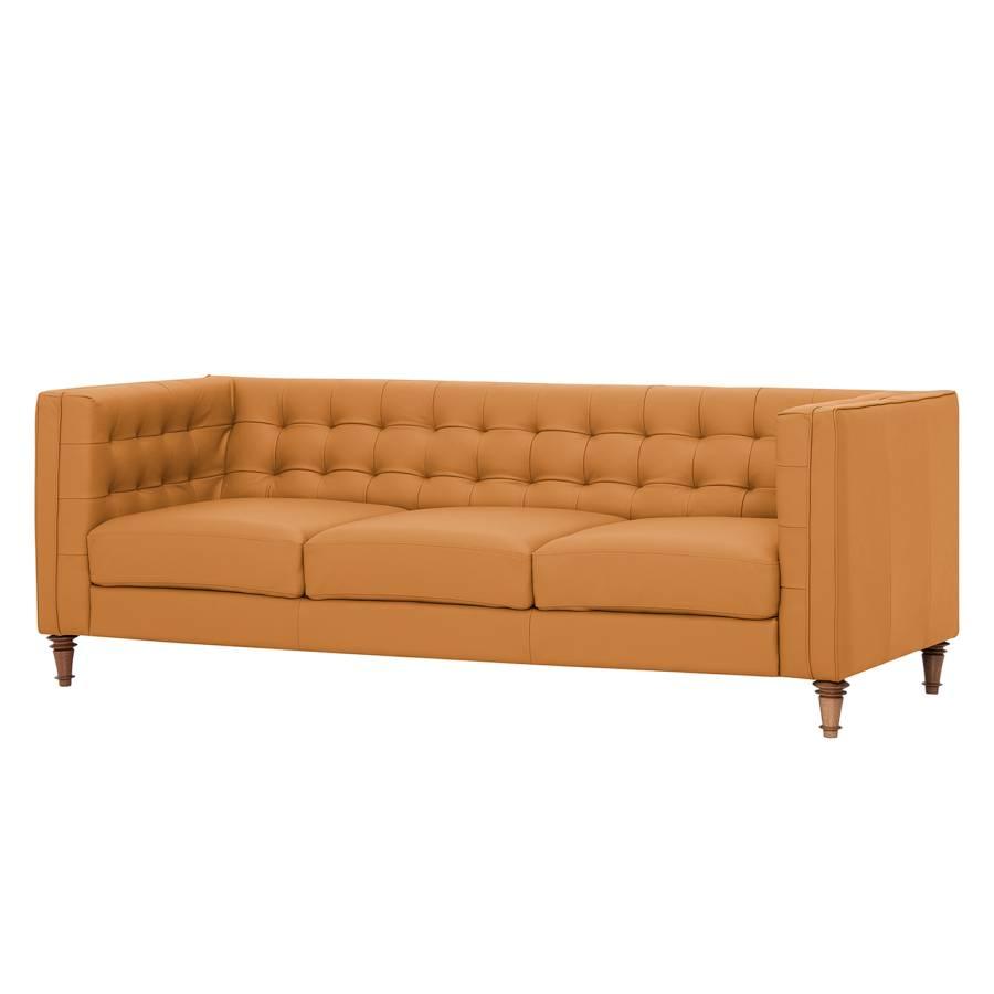 Sofa Buckingham 3 Sitzer Echtleder Home24