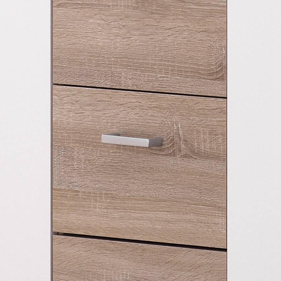 Weiß Sonoma eiche Sideboard Lara Dekor y6vYb7gf