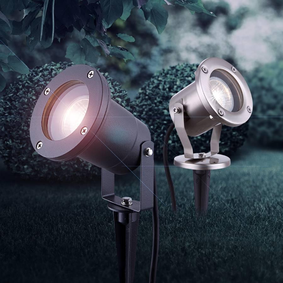 Style Ampoule Iv Luminaire D'extérieur VerreAcier Inoxydable1 CrexdBWo