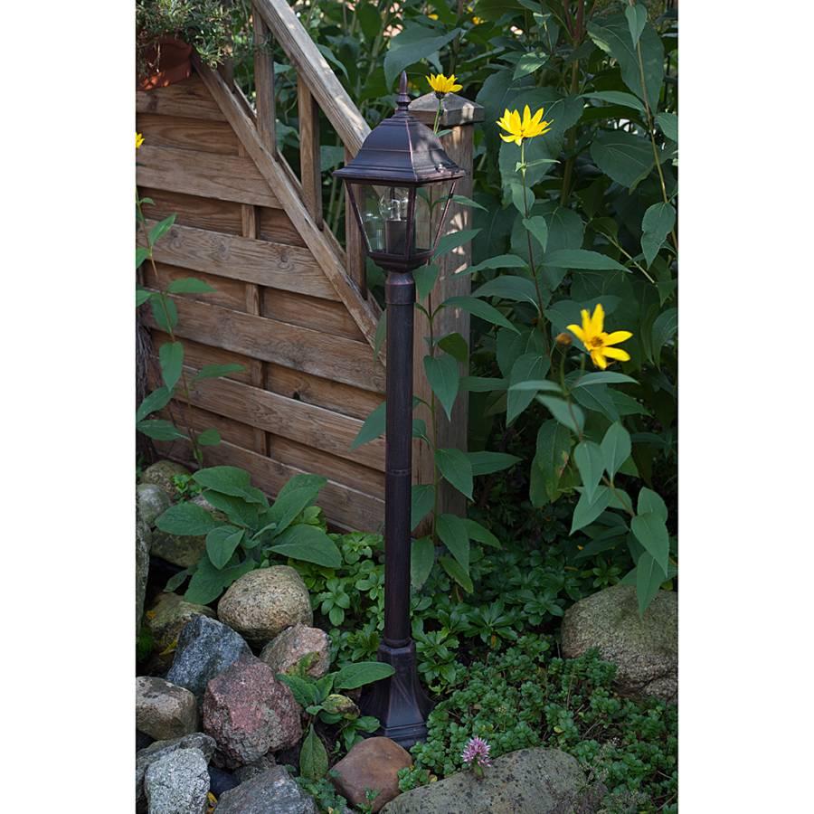 GlasSchwarz flammig Außenleuchte Metallamp; 1 Sally LpqMSzUGV