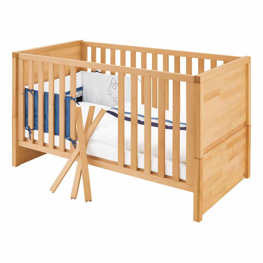Babybed Aan Bed.Babybed Fagus