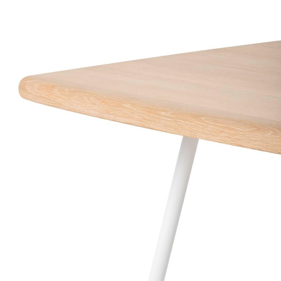 Hennes Table Haute Haute Hennes Chêne Chêne MassifMétalBlanc Table uFc1TJ3Kl