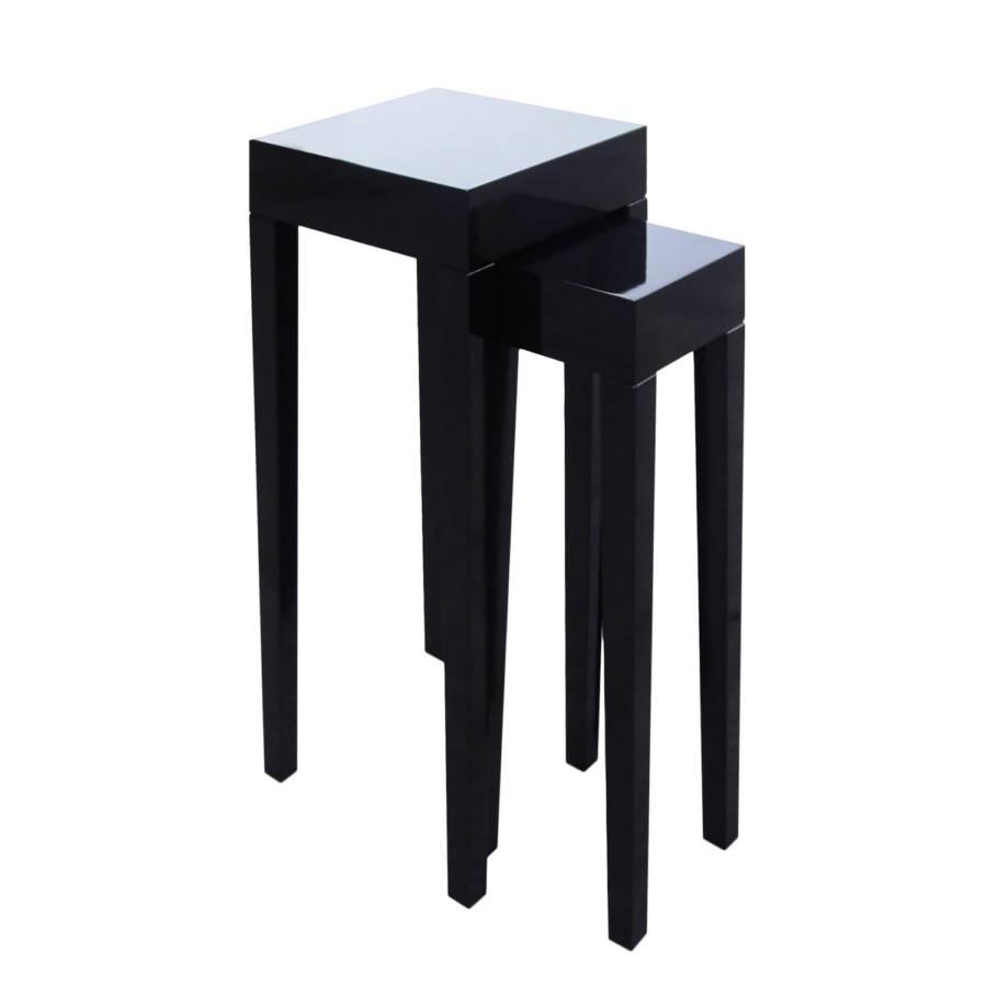 Élémen Nadawa2 Gigogne D'appoint Noir Table 0kwXP8nO
