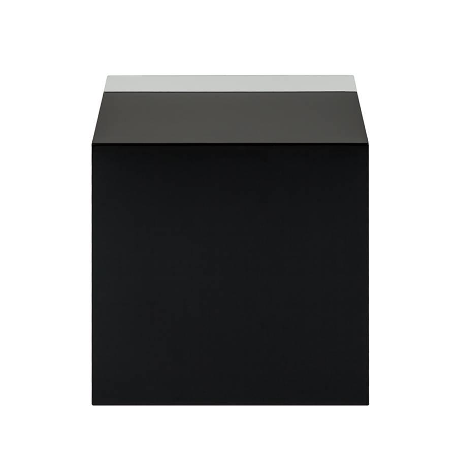 Barcelona Barcelona Beistelltisch Schwarz Schwarz Beistelltisch weißHochglanz 8OkPn0w