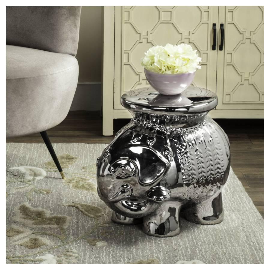 Elephant Beistelltisch Beistelltisch KeramikSilber Elephant Beistelltisch Elephant KeramikSilber KeramikSilber 8Nn0mw