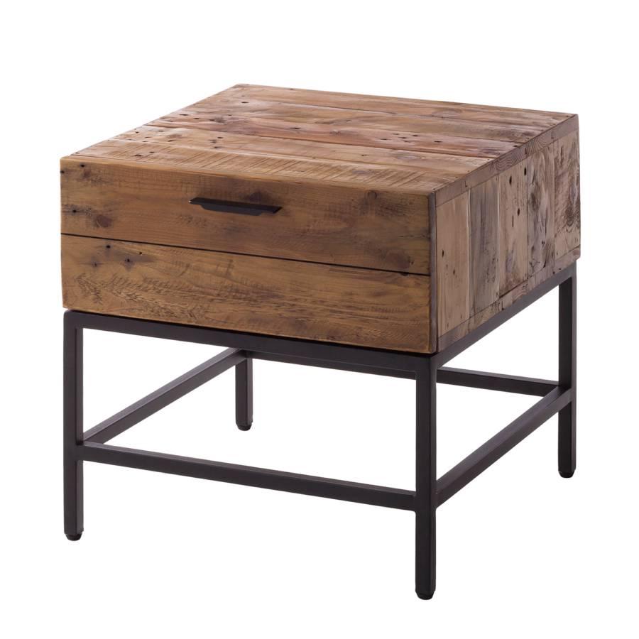 Kleiner Tisch Altholz.Beistelltisch Grasby