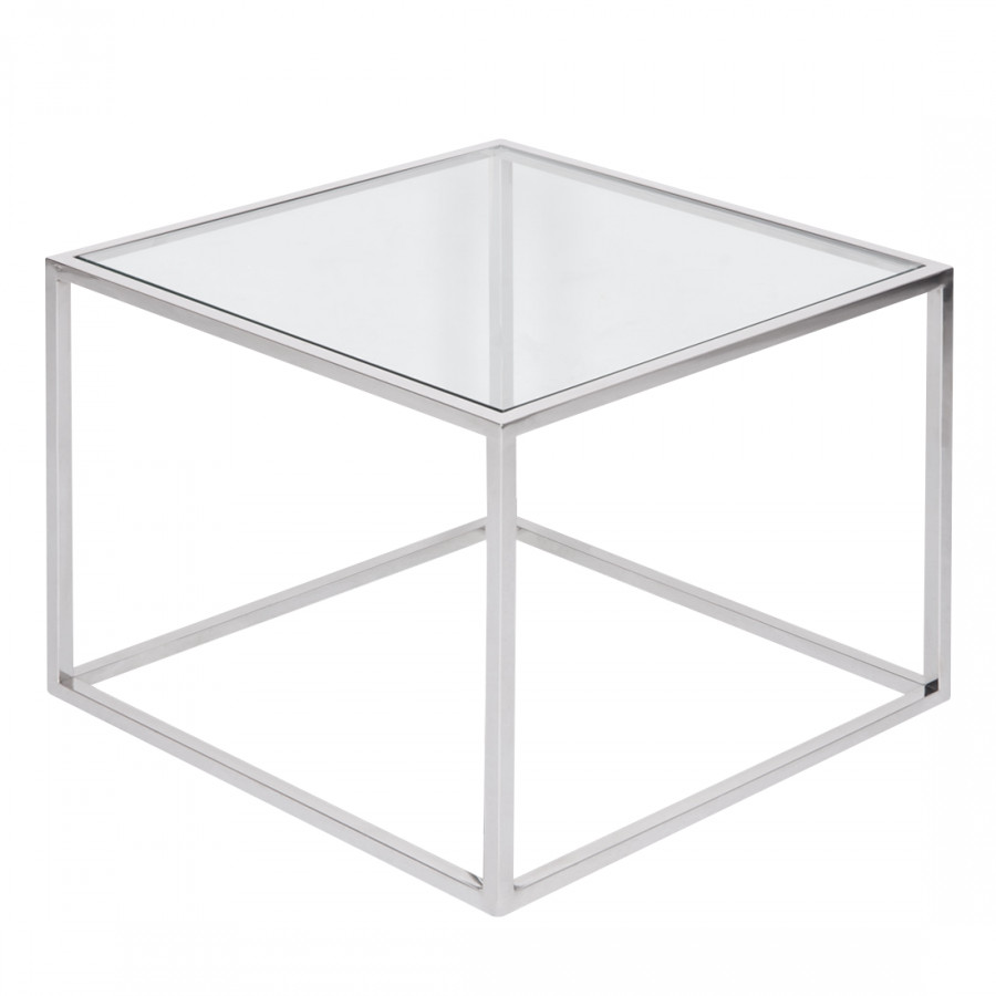 beistelltisch edelstahl glas icnib. Black Bedroom Furniture Sets. Home Design Ideas