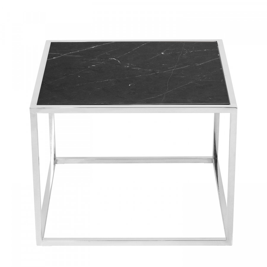 Jacob Table D'appoint NoirArgenté Table Jacob Table NoirArgenté D'appoint 8n0OPkw