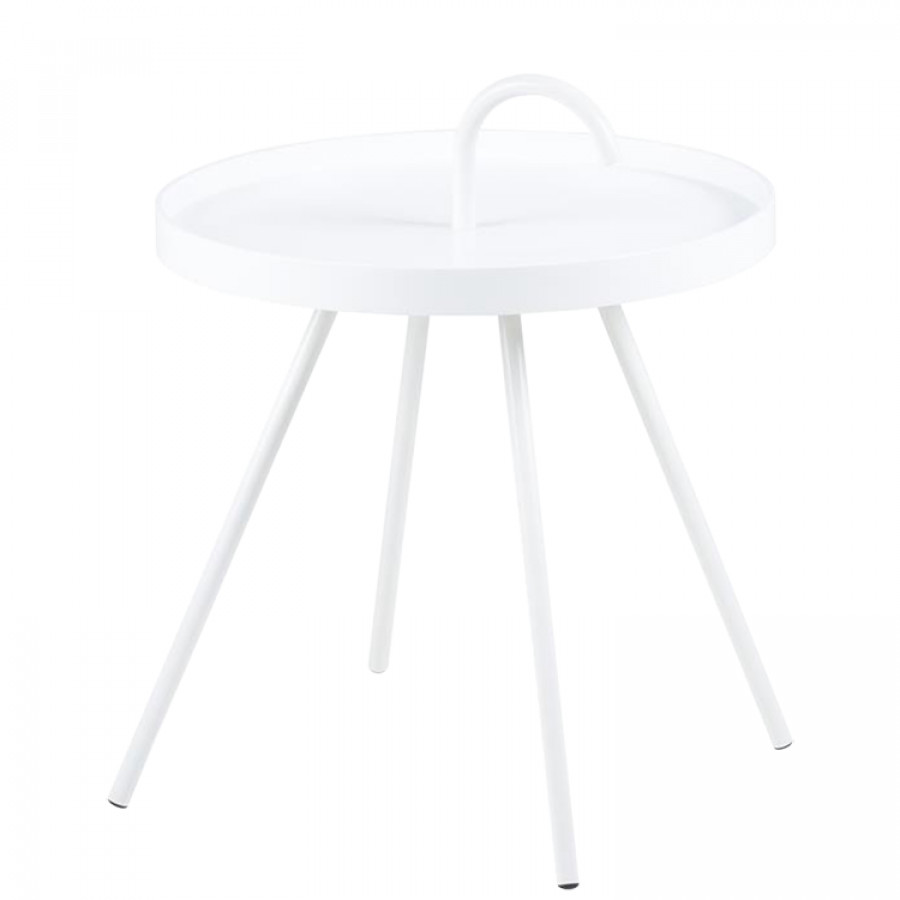 D'appoint Mobara Blanc Mobara D'appoint Table Blanc Table Table 5A3Lq4Rj