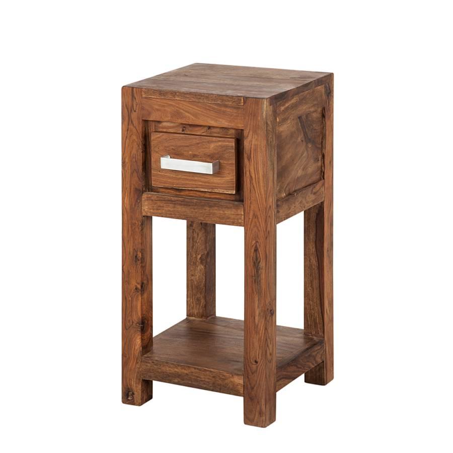 Tavolino Ohio I - Legno massello di Sheesham Cerato | home24