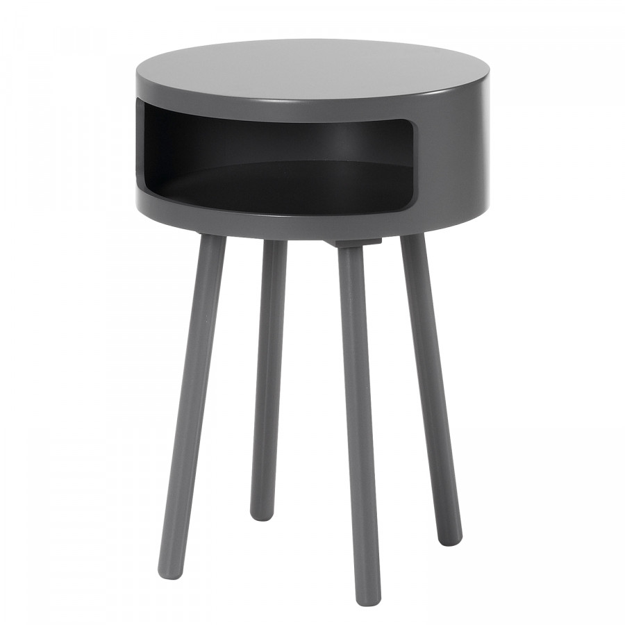 Foncé D'appoint Table D'appoint Gris Skoby Table Skoby dCBeorx