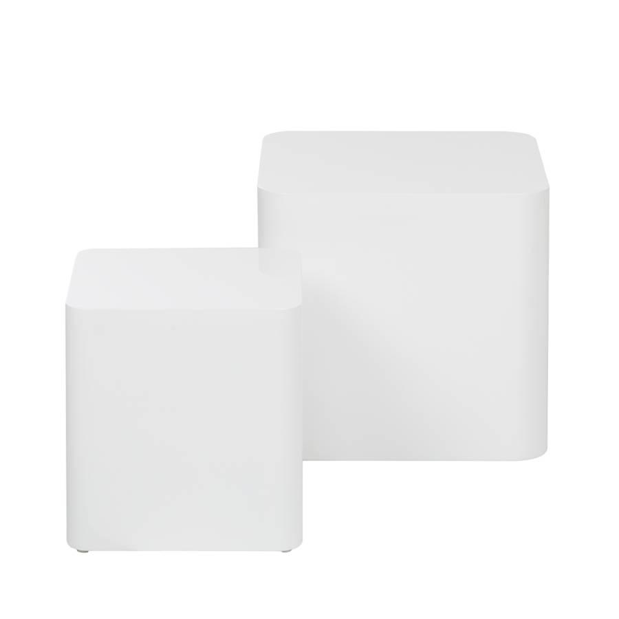 Beistelltisch Square2er setHochglanz Beistelltisch Beistelltisch Square2er Weiß Square2er setHochglanz Weiß TKJlFcu135