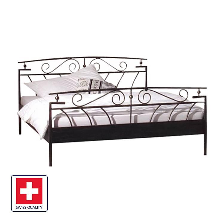 X Florenz Bett 200 Cm SchwarzLiegefläche140 CreBdWxo