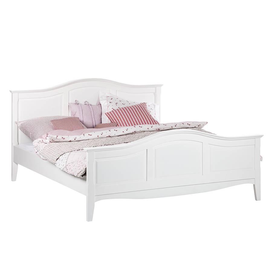 Bett weiß  Bett aus der Serie Giselle in Weiß (140 x 200 cm) | home24